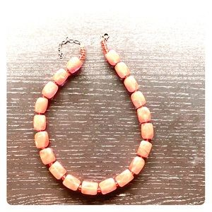Women's coral necklace